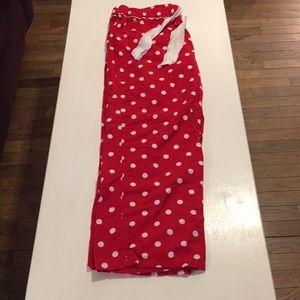 NWOT Polka Dot Pajama Pants